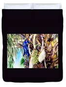 Hide-n-seek Hyacinths Duvet Cover