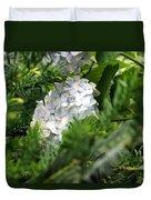 Hiding Hydrangea Duvet Cover