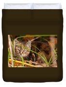 Hiding In The Grass Duvet Cover