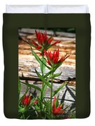High Country Wildflowers Duvet Cover