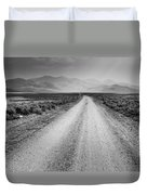 Sunbeams On The Mountains Duvet Cover