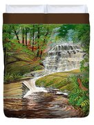 High Falls Duvet Cover