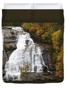 High Falls In The Dupont State Forest Duvet Cover
