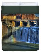 High Falls Rainbow Duvet Cover