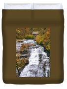 High Falls Duvet Cover by Scott Norris