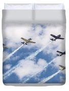High Flying Five Duvet Cover