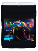 High Frequency Glow Duvet Cover