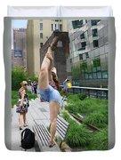 High Line Exhibitionist Duvet Cover
