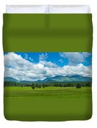 High Peaks Area Of The Adirondack Duvet Cover
