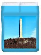 High Point Monument Nj Duvet Cover