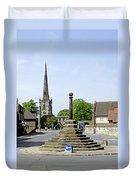 High Street To Willington Road - Repton Duvet Cover