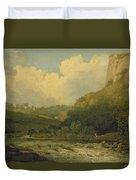 High Tor, Matlock, 1811 Duvet Cover