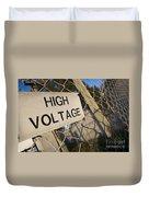 High Voltage Duvet Cover