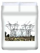 High Wire Act Duvet Cover