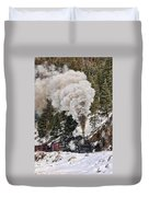Highball Through Cascade Canyon Duvet Cover