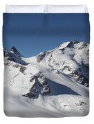 Highest Peak St Mortiz Duvet Cover