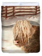 Highland Bull Duvet Cover