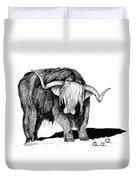 Highland Bull Duvet Cover