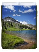 Highland Lakes Duvet Cover