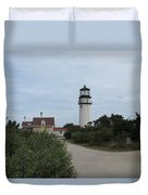 Highland Light Aka Cape Cod Light Duvet Cover