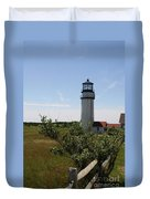 Highland Light - Cape Cod - Ma Duvet Cover