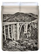Highway 1 Duvet Cover by Heather Applegate