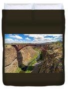 Highway 97 Bridge Duvet Cover