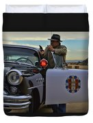 Highway Patrol 6 Duvet Cover by Tommy Anderson