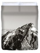 Hiker, Grand Teton Park, Wyoming, Usa Duvet Cover by Panoramic Images
