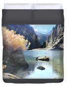 Hikers Haven Duvet Cover