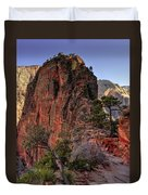 Hiking Angels Duvet Cover by Chad Dutson