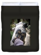 Hiking Boots Duvet Cover