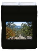 Hiking View Duvet Cover