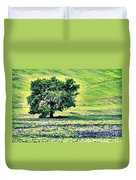 Hill Country Scenic Hdr Duvet Cover