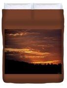 Hill Country Sunrise Duvet Cover