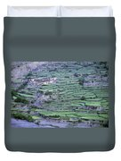 Hill Modified For Agriculture, Tetang Duvet Cover