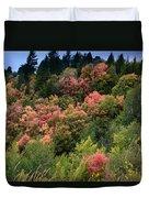 Hill Side Colors Duvet Cover