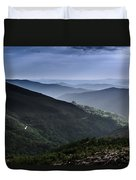 Hills And Valleys Duvet Cover