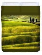 Hills Of Toscany Duvet Cover