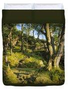 Hillside Forest Duvet Cover