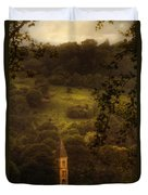 Hillside Sanctuary Duvet Cover