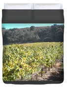 Hillside Vineyard Duvet Cover