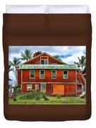 Hilo Town House Duvet Cover