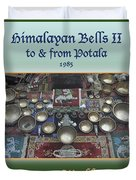Himalayan Bells II Duvet Cover