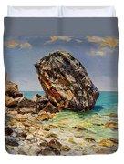 Himara's Big Rock Duvet Cover