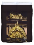 Hindu Gold By Jrr Duvet Cover