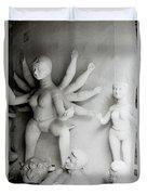 Hindu Sculpture Duvet Cover