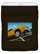 Hip Hoppin Chevy Duvet Cover
