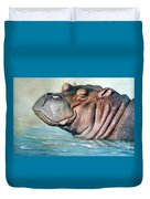 Hippo Lisa Duvet Cover