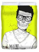 Hipsters Not Dead Duvet Cover